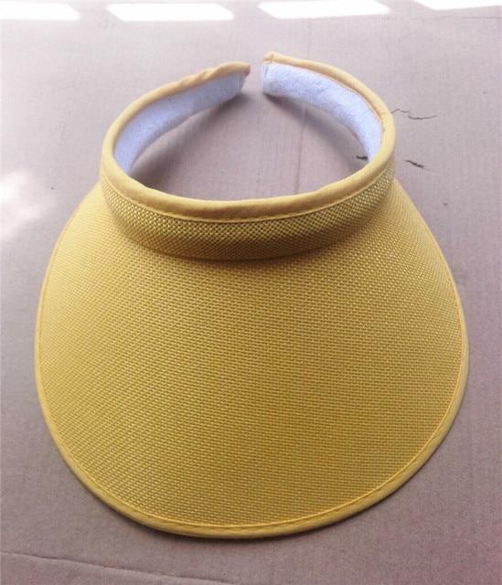 b6ba7abec5e86 Summr Women Casual Sun Visor Hat Beach Empty hat Ladies Adjustable Nature  Straw Topless Cap