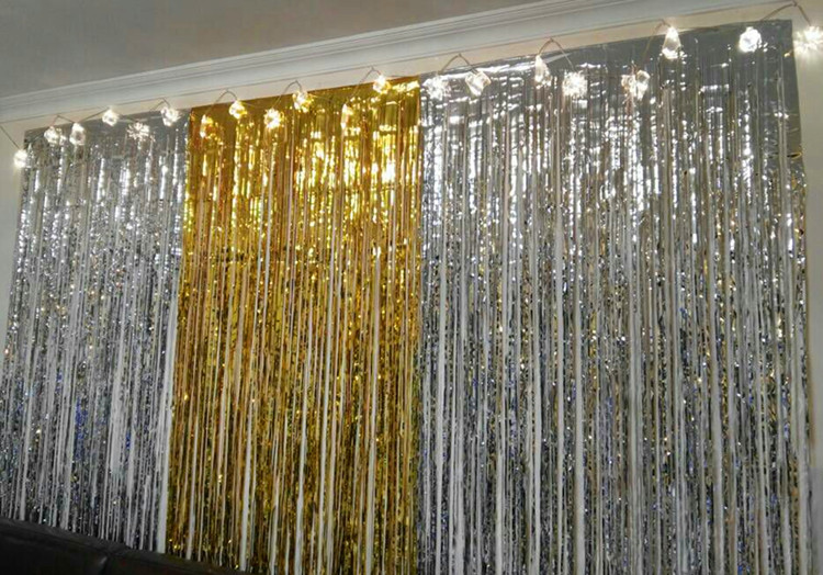 Buy party backdrops decoration1 2m for Background curtain decoration