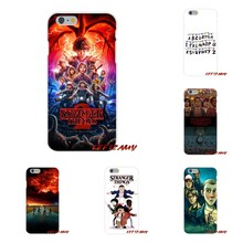 For iPhone X 4 4S 5 5S 5C SE 6 6S 7 8 Plus Stranger Things 2 Accessories Phone Shell Covers(China)