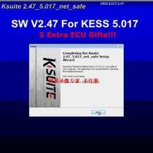 Активация Kess V2 V2.47 SW евро версия неограниченное количество жетонов онлайн Kess 5,017 kлюкс 2,47 добавить больше протоколов ECU программист