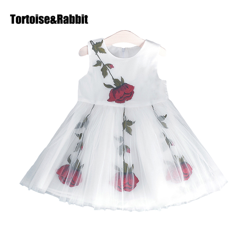 Подробнее о Kids Girls Princess Dresses For Party Summer Tulle Dress Toddler Wedding Sundress Flower Clothes Design Mesh Tutu Dance Dress flower girl dresses for kids new girls summer full dress for party and wedding teenagers sundress fancy clothes princess costume