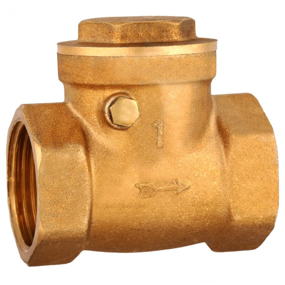 """NON-RETURN SIZES FROM 1//2/"""" To 3/"""" BSP BRASS SPRING CHECK VALVE BSPP"""
