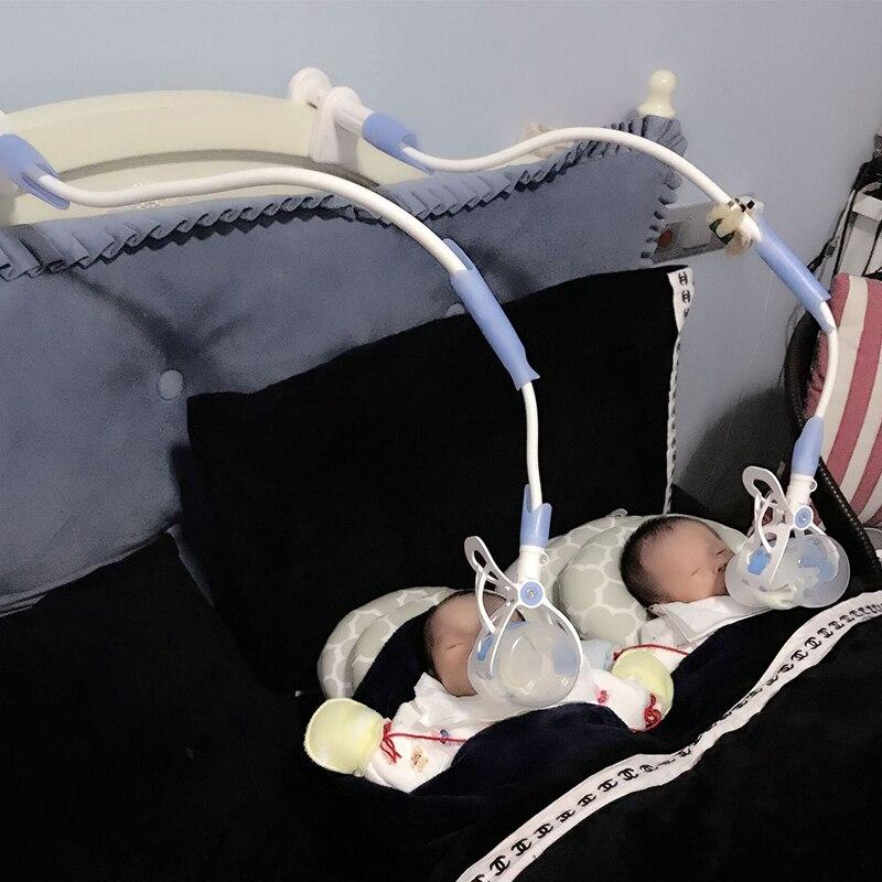 2 Size Baby Bottle Rack Free Hand Bottle Holder Feeder Bottles Rack Baby Feeding Holder Drink Water Nursing Holder Support Clip