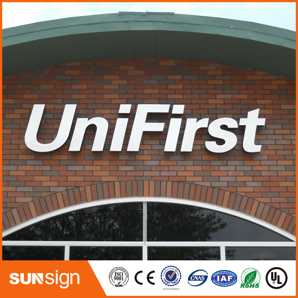 Anti-rust Stainless Steel Outdoor Large Led Letters