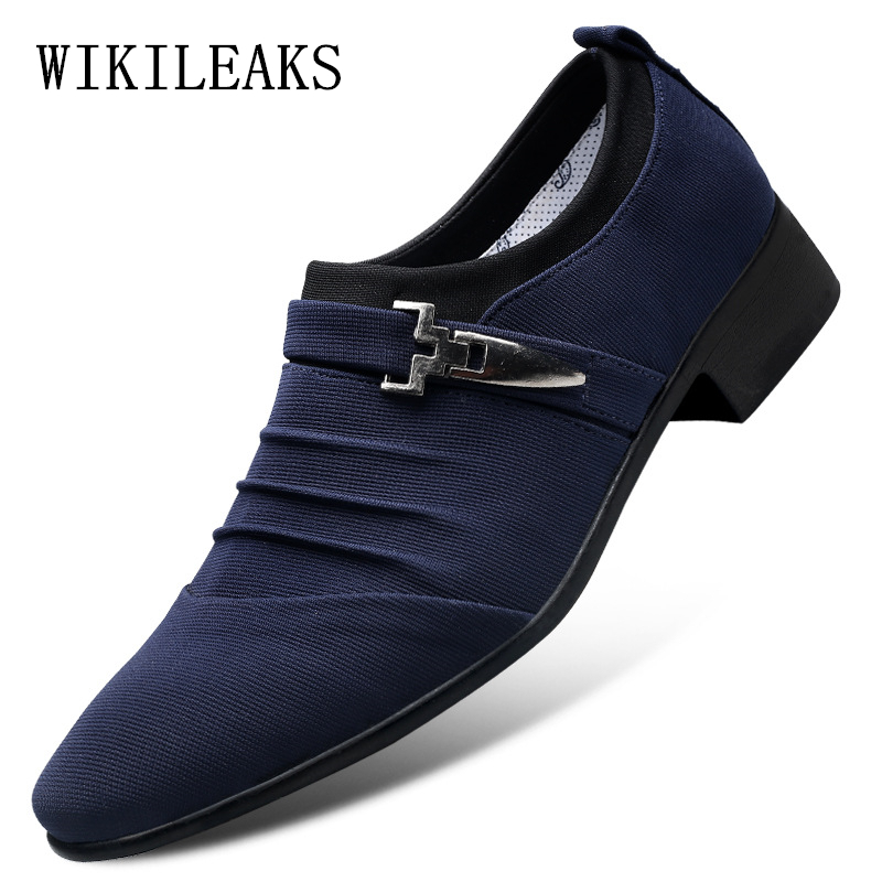 2020 Loafers Men Shoes Wedding Oxfords