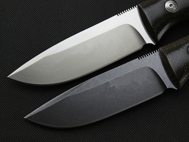 High quality FX-DAG fixed stone wash D2 blade linen handle tactical hunting knife outdoors camping survive knives & K sheath