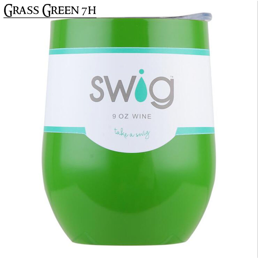 Swig Egg Beer Cup 9oz Swig Wine Cup Stainless Steel Vacuum Coffee Tumbler Swi Mug Termos Swig Tumbler Thermos Garrafa Termica
