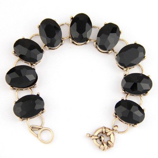 Crystal Dot Oval Bracelet...
