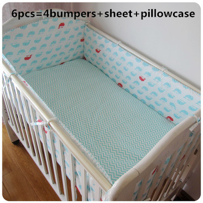 Promotion! 6pcs Crib Bedding Baby Bedding Set Baby Nursery Crib Bumper  ,include(bumpers+sheet+pillow cover)Promotion! 6pcs Crib Bedding Baby Bedding Set Baby Nursery Crib Bumper  ,include(bumpers+sheet+pillow cover)