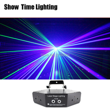 good effect RGB dj Laser image Lines Beam Scans DMX DJ Dance Bar Coffee Xmas Home Party Disco Effect Lighting Light System Show mini red blue laser stars lines pattern projector remote lighting light dance disco bar party dj xmas effect stage lights show