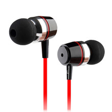 Free ShippingInpher FUQING Super bass earphones Metal-Ear Mobile Computer MP3 Universal 3.5MM clear voice amazing sound earphone