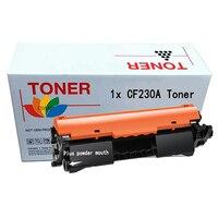 1x negro compatible No chip CF230A 30A cartucho de tóner para hp LaserJet M203d M203dn M203dw MFP M227fdn M227fdw impresora|toner cartridge|compatible toner cartridgeshp toner cartridge -