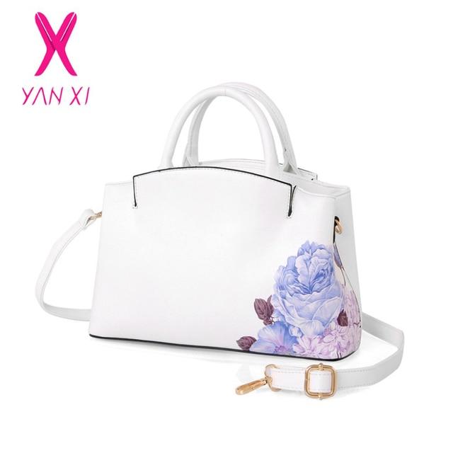 Selling PU Leather Women Bag Handbags Fashion  Blue And White Chinese Style Lady Shoulder Messenger Bag Ladies Luxury Handbags