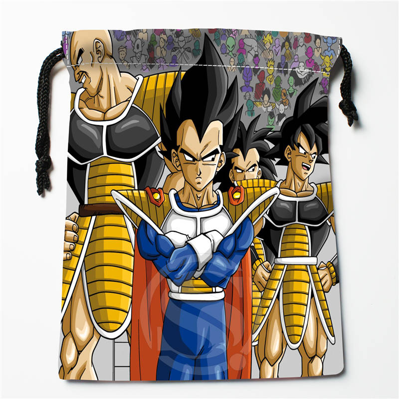 A&r30 New Dragon Ball Z ANIME Custom Logo Printed  Receive Bag  Bag Compression Type Drawstring Bags Size 18X22cm 712q#r30