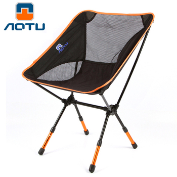 Moon Outdoor Portable Folding Chair Heavy Duty Camping Chairs Beach Chair with Carry Bag for Backpacking Fishing Hiking Picnic