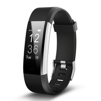 2018 New Fitness Smart wrist Band Heartrate Blood Pressure Oxygen Oximeter Sport Bracelet Watch intelligent For iOS Android
