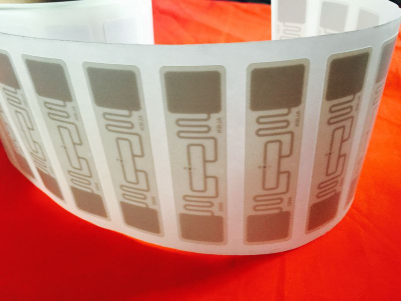 1000PCS/Roll 9662 UHF RFID Tag Coated Paper Stickers ISO18000-6C H3 UHF RFID Sticker Label