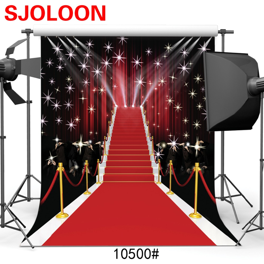 Red carpet star Photography backdrops Photography-studio-backdrop Fond studio photo vinyle Backgrounds for photo studio 3x3m