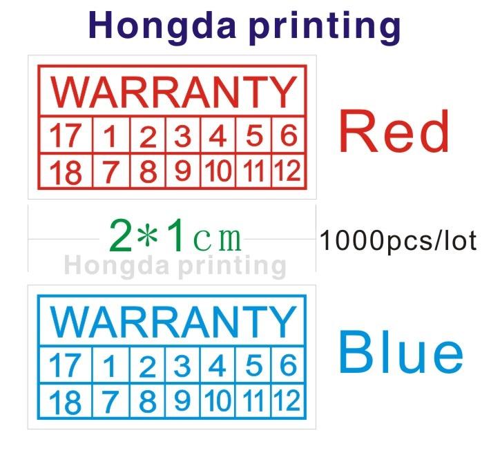 US $11 68 |wholesale 1000pcs/lot diameter 20x10mm warranty stickers (  Warranty void if damaged ) seal broken label free shipping-in Stationery