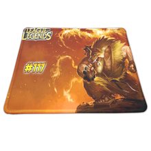 Sizzling Sport Rubber Mouse Pad Lock Edge PC Pc Laptop computer Gaming Mice Play Mat Mousepad For League of Legends Pace Pads