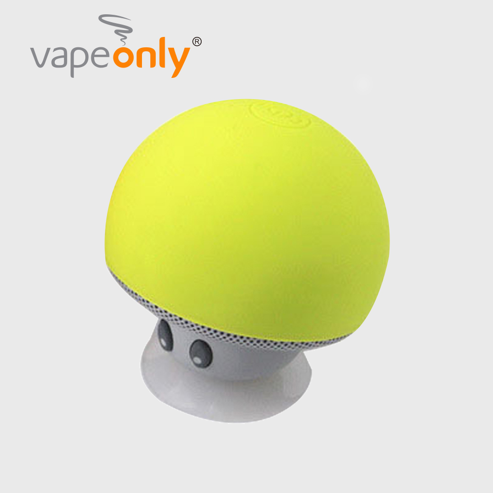 Vapeonly Portable Mini Bluetooth Speaker Mushroom Wireless Speakers Subwoofer Stereo Music Player w/ Phone Holder for iphone 8