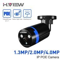 1080 P Kamera IP Kamera POE Onvif Bullet Kamery Monitorujące 2.0 MP 4.0MP Cam iPhone OS Android Łatwe Zdalnego dostęp
