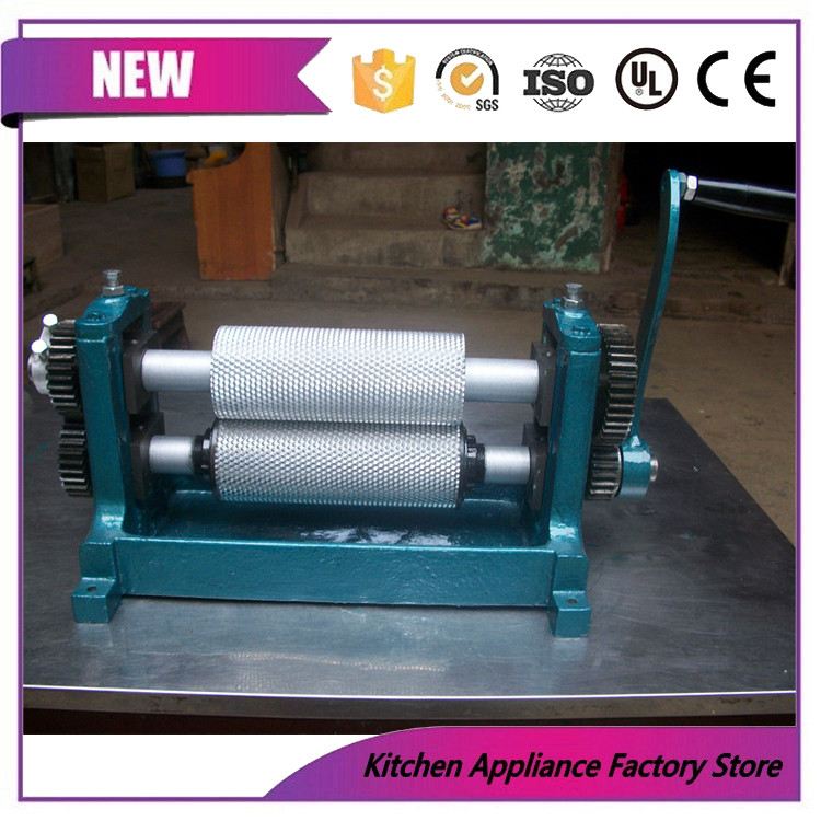 10% Discount 74*195mm Manual Beeswax Embossing Machine;Beeswax Comb Foundation Mill Machine
