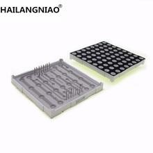 جديد 10 قطعة x 5 مللي متر 8X8 الأحمر الأنود المشترك/الكاثود 60*60 LED نقطة مصفوفة الرقمية أنبوب وحدة 2088BS 2088AS LED وحدة عرض
