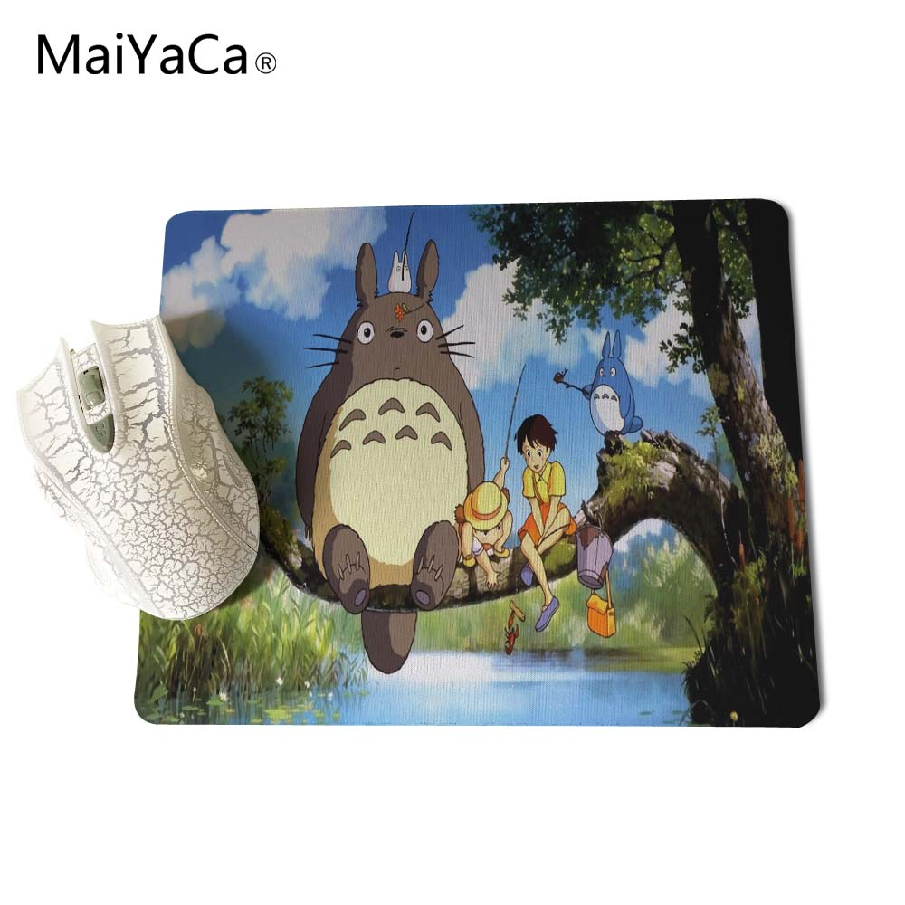 Computer Peripherals Maiyaca My Neighbour Totoro Totoro Anime Umbrellas Wallpaper New Anti-slip Mouse Pad Pc Game Gaming Mouse Pad Mouse & Keyboards