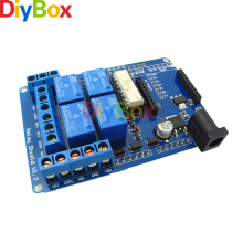 5V 4 Channel Relay Module Extension Board Relay Shield V1.3 For Arduino UNO R3 Xbee 315