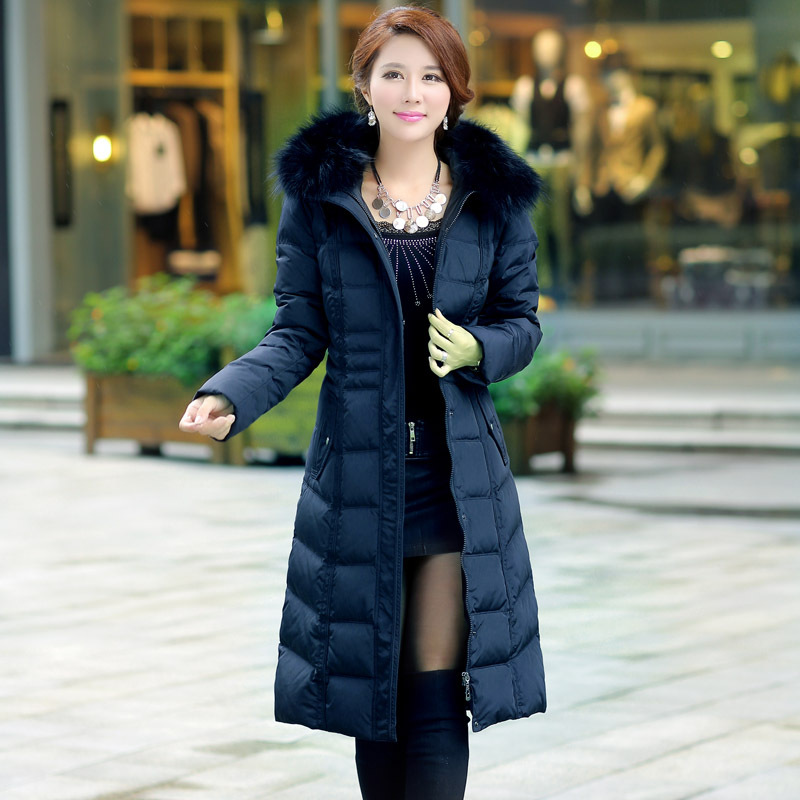 Aliexpress.com : Buy Plus Size Ladies Winter Coat Slim Hooded ...