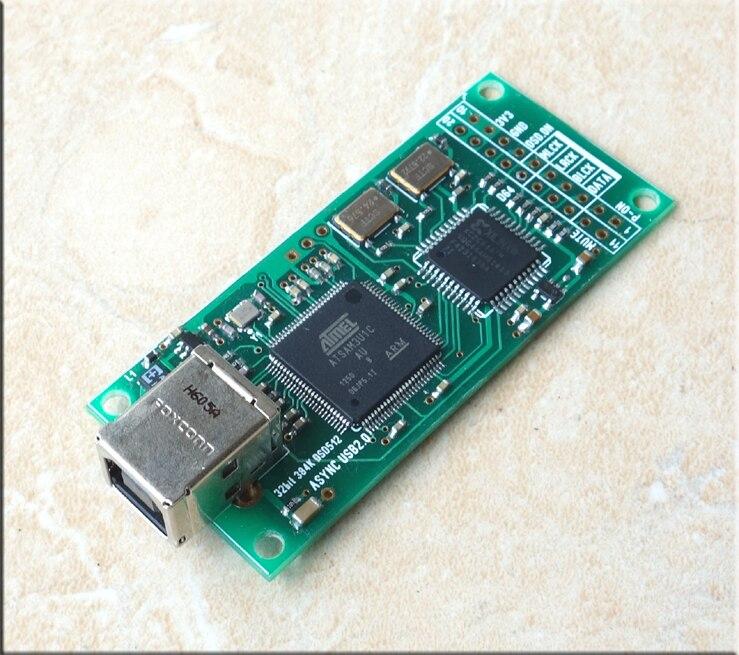 HIFI Combo384 USB à I2S Interface numérique se référer à Amanero usb iis Support DSD512, 32Bit/384 K-in Numérique-Analogique Convertisseur from Electronique    2