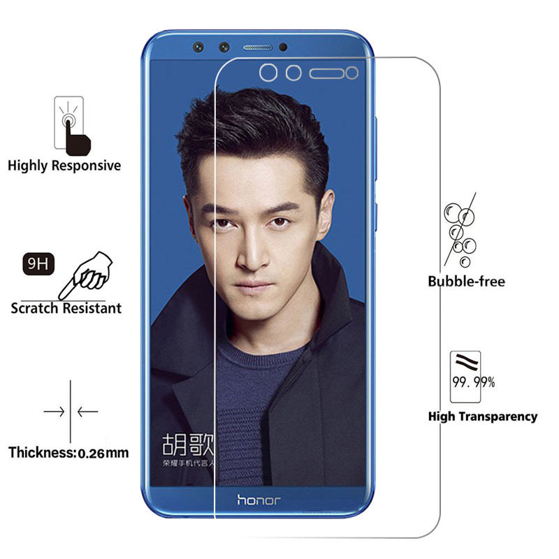 Tempered Glass For Huawei Honor 9 Lite 7A 7C 7X Screen Protector Toughened Protective Film For P9 P10 P20 Lite Mini Mate 10 Lite in Phone Screen Protectors from Cellphones Telecommunications