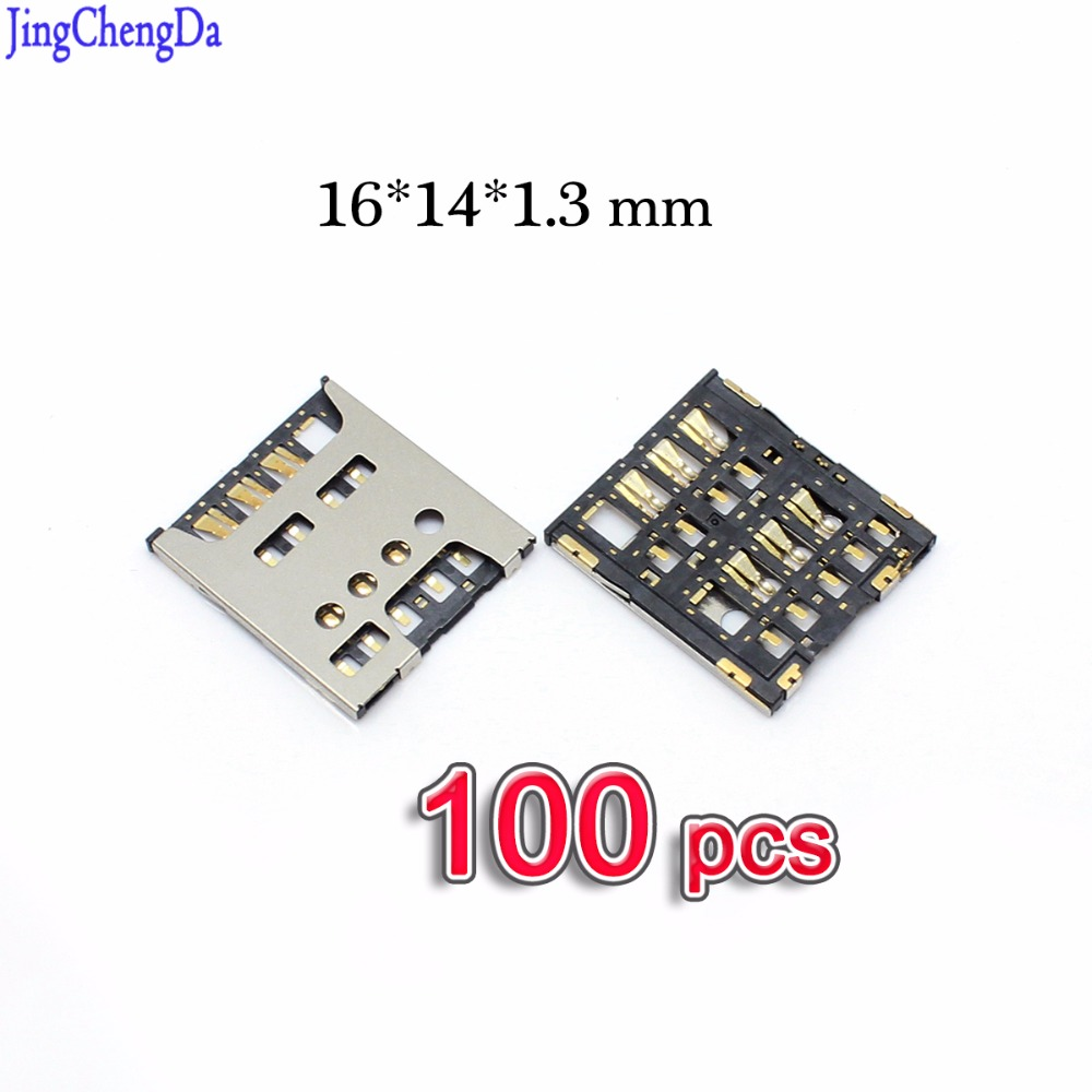 Jing Cheng Da 100 Pcs For Sony Xperia S LT26i LT26 SP M35H C5303 E3 D2203 SIM Card Tray Slot Holder Socket Connector Plug Repair