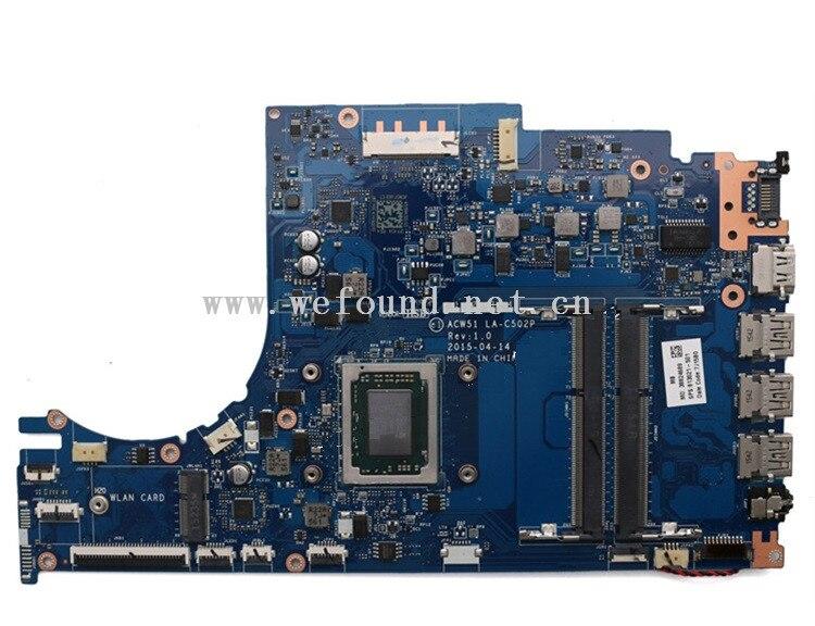 laptop Motherboard For 813021-501 813021-601 813021-001 M6-P113DX FX-8800P LA-C502P system mainboard Fully Testedlaptop Motherboard For 813021-501 813021-601 813021-001 M6-P113DX FX-8800P LA-C502P system mainboard Fully Tested