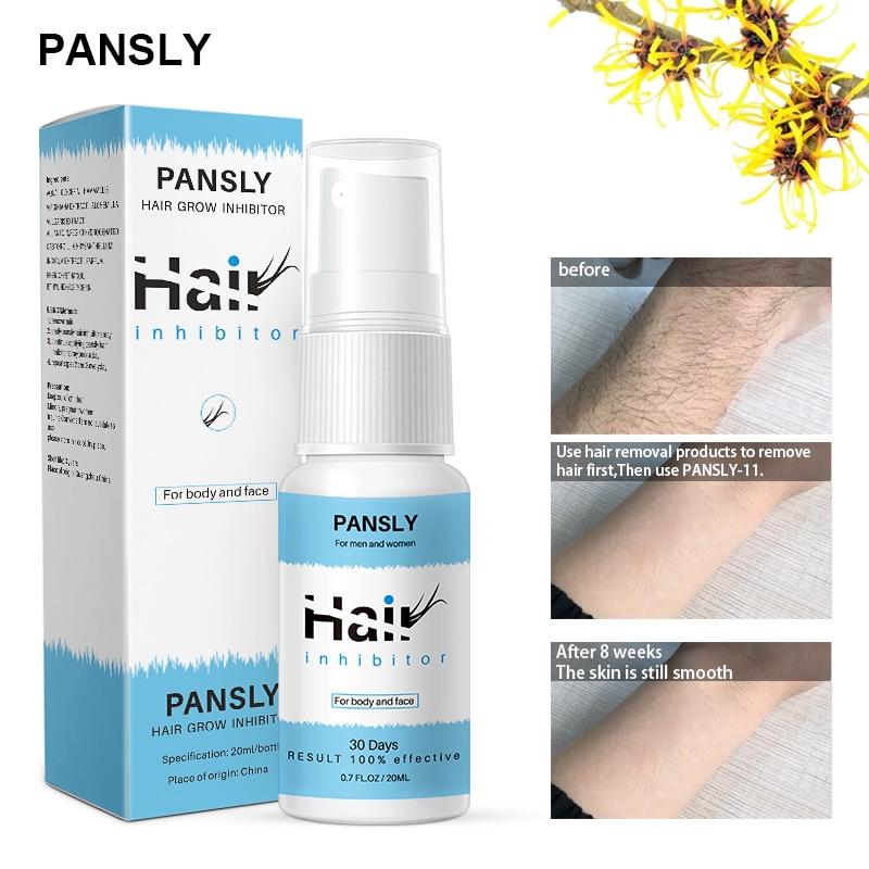 Herbal Permanent Hair Growth Inhibitor Smooth Body Hair Removal Spray For Women Men Facial Hair Remover Bikini