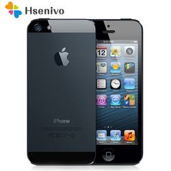 Original Unlocked Apple iPhone 5 Mobile Phone 4.0 inches Dual Core 16/32/64GB 8MP Camera WIFI GPS 3G IOS Cell Phone refurbished