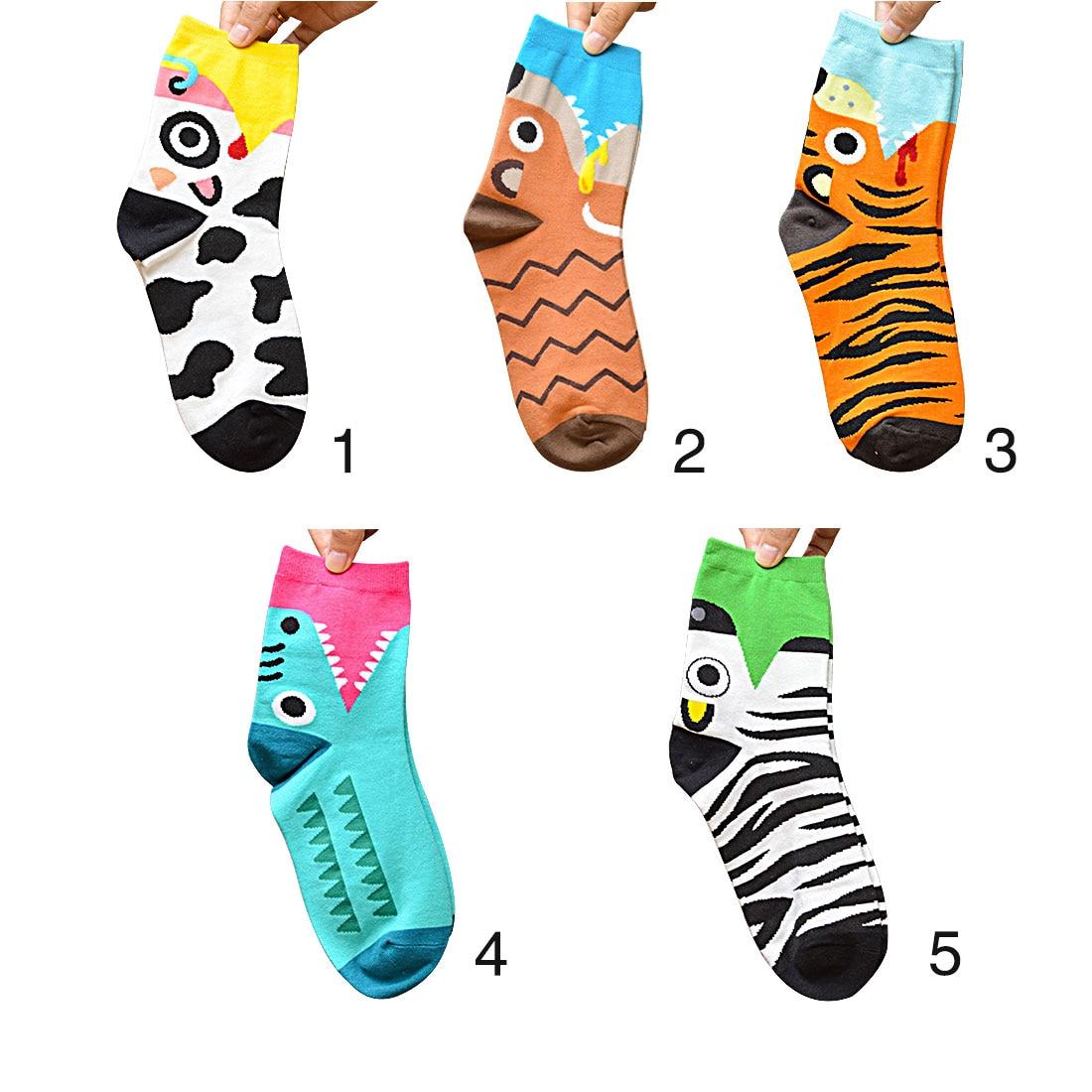 Hot New Hot-Sell Women Cartoon Socks Autumn-Winter Animal Soks Lady And WomenS Cute Cartoon Funny Cotton 3D Socks