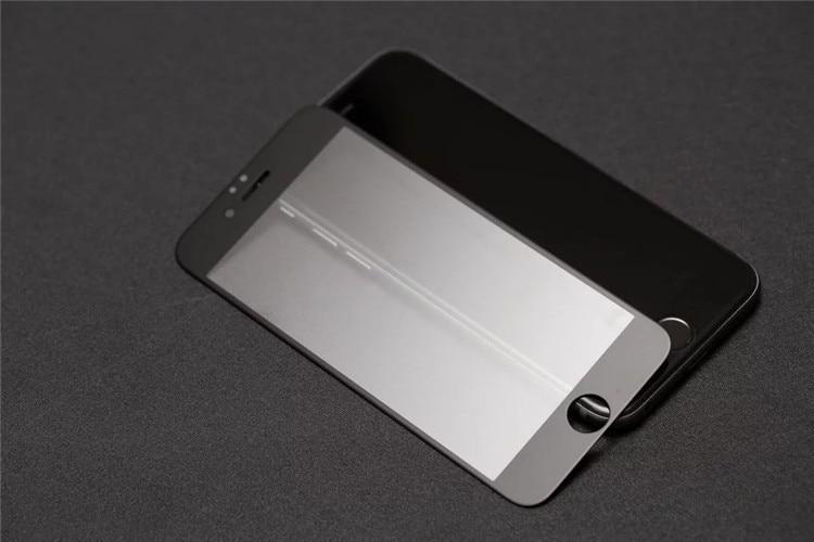 9H 2.5D matowy matowy pełna pokrywa szkło hartowane Screen Protector dla iPhone X XS MAX XR 10 8 7 6s 6 Plus 7Plus anty odciski palców 27