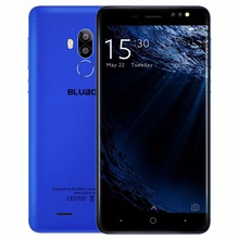 Original BLUBOO D1 5.0 pulgadas 3G Teléfonos Móviles Android 7.0 MTK6580A Quad Core 2 GB RAM 16 GB ROM 2 Volver Cámaras GPS Bluetooth WiFi