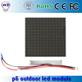 New arrival P6 outdoor led display panel 192*192mm 1/8 scan Hub75 3IN1 RGB led display modules p6 outdoor