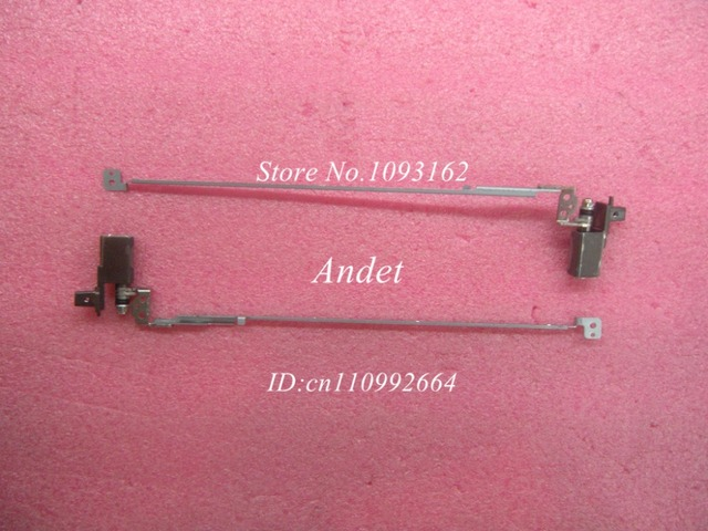 New Original For Lenovo ThinkPad T540P W540 LCD Hinges Left & Right Laptop Screen Axis R&L Set Wedge 04X5533 04X5534
