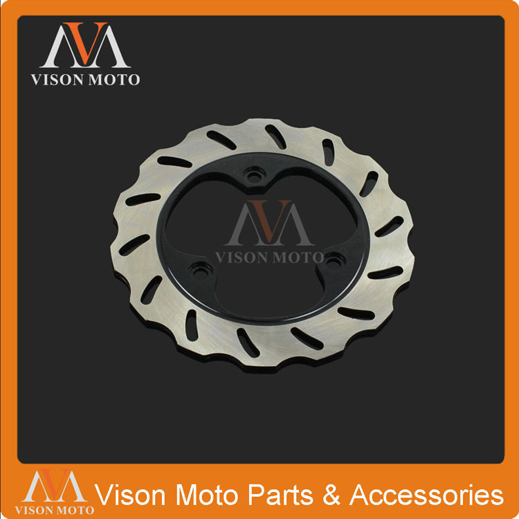 Castec Non-Ironing Motorcycle Accessories & Parts Motorcycle Rear Brake Disc Rotor For Honda Cbr600 Cbr400 Cbr250 Vfr400 Ns250 Ns400 Nsr250 Cbr250 Rh Mc17 Vt250 Fl Spada