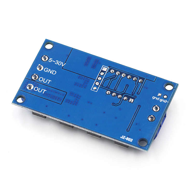 الزناد دورة الموقت تأخير التبديل 12 24 فولت لوحة دوائر كهربائية مزدوجة أنبوب أكسيد المعدن نصف الموصل وحدة التحكم