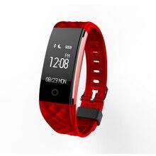 S2 Bluetooth Браслет Водонепроницаемый IP67 Сердечного ритма Смарт Браслет для Android IOS Телефон с Вызова/SMS Напоминание Удаленной Камеры