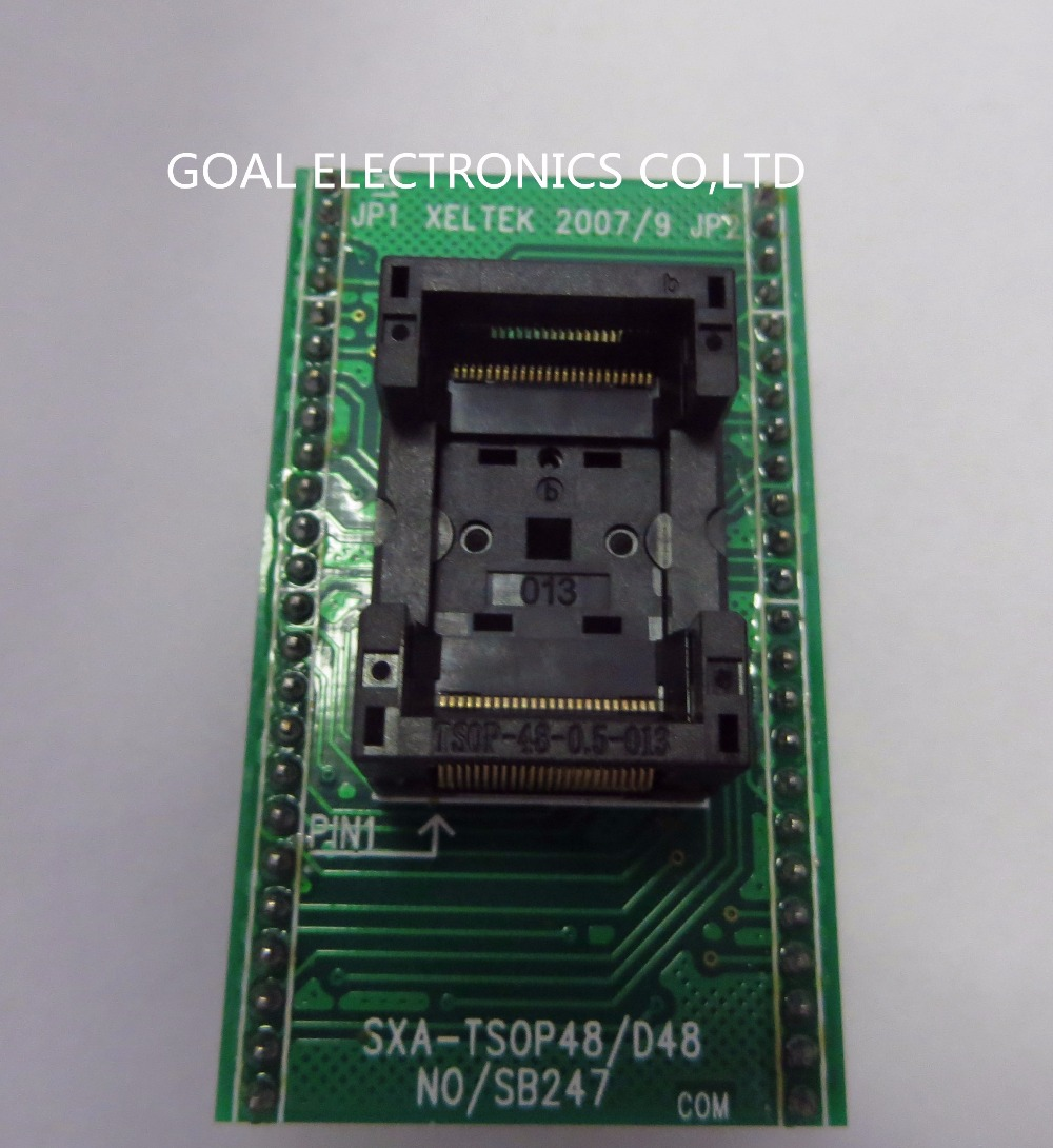 все цены на Burn imported IC test socket adapter TSOP48 programming SB247-B4806 онлайн