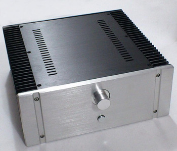 BZ3212A DIY box all aluminum housing power amplifier chassis case 320*120*313MM