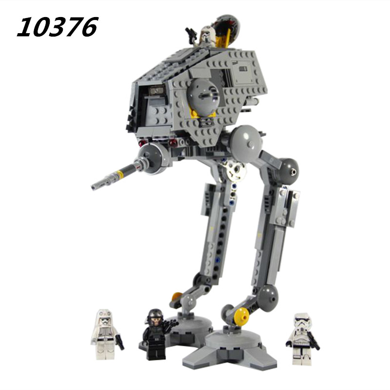 AIBOULLY 499pcs 2016 10376 New AT-DP Building Blocks Toys Gift Minis Rebels animated TV series brinquedos 75083 2016 499pcs bela 10376 new star wars at dp building blocks toys gift rebels animated tv series compatible