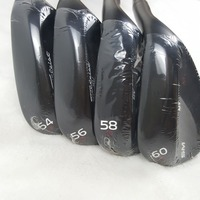 Touredge Golf Wedges Golf Clubs Vokey Black SM6 Series Wedges Degree 50 52 54 56 58