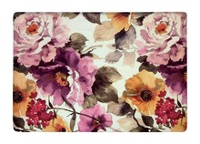 Floor Mat Vintage Elegant Watercolor Peony Flowers Print Non-slip Rugs Carpets alfombra For Indoor Outdoor Living Room